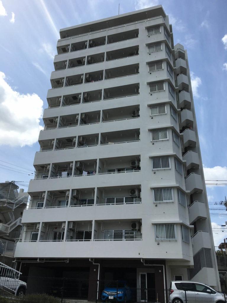 佐久真沖縄探偵事務所の外観